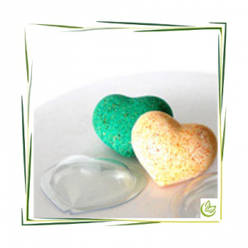 Bath Bomb Mold Heart M