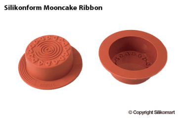 Silikonform Mooncake Ribbons