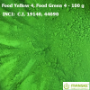 Food Yellow 4, Food Green 4 - 100 g